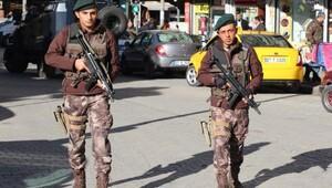 Gaziantepte 250 polisle huzur operasyonu