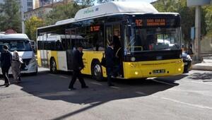 Diyarbakırda 1 hafta sonra otobüsler seferlere başladı