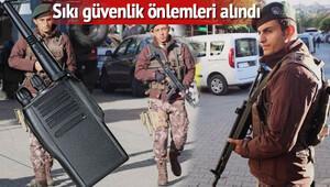 DEAŞın tehditinin ardından Gaziantep'te önlemler artırıldı