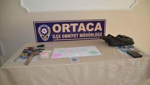 Ortacada uyuşturucu operasyonu: 9 gözaltı