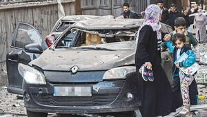 07.53 bombası taksiye çarptı