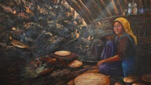 Raziye Cerit Albayrak, 5inci kişisel resim sergisini açtı