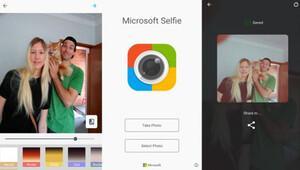 Microsoft Selfie uygulaması Androide geldi