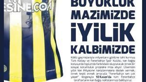 İzmirde, Fenerbahçeden kan bağışına davet