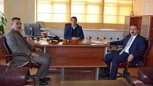 Sgk Müdürü Akgün'den, Başkan Yazgı'ya ziyaret