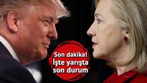 ABD başkanlık seçimlerinde son dakika gelişmesi... Ve ilk sonuçlar açıklandı