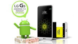 Android 7.0 Nougat LG G5e geldi