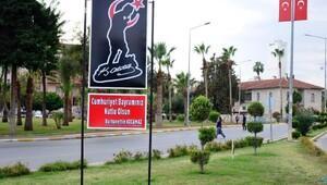 Atatürk sevgisi Mersin sokaklarında