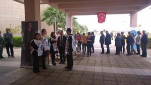 Türk-Büro Sen Atatürk için lokma döktürdü