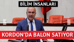 Bakan: Bilim insanları Kordonda balon satıyor