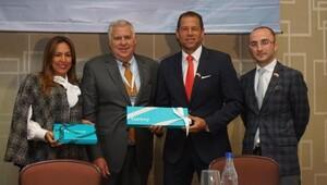 Kolombiya ticaret heyetine Tarakçıoğlu başkanlık yaptı
