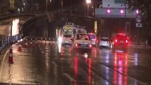 15 Temmuz Şehitler Köprüsündeki kaza trafik
