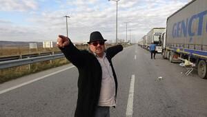 Bulgaristan gümrüğü yavaşladı, kilometrelerce TIR kuyruğu oluştu