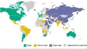 Freedom House: Türkiyede internet özgür değil