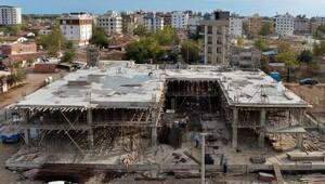 Cemevinin kaba inşaatı tamamlandı