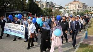 Osmaniyede diyabet yürüyüşü