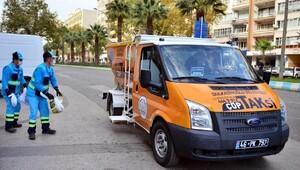 Kahramanmaraşta Çöp taksi uygulaması