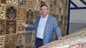 Kaplan, halı sektörünün sorunlarını aktardı