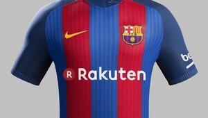 Barcelonanın yeni sponsoru Rakuten oldu Rekor...