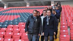 Eskişehirspor 35 bin kişilik yeni stadında oynayacak Fotoğrafları