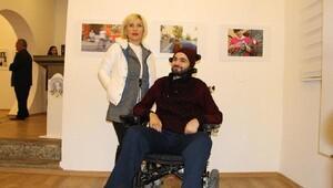 Fotoğraf Çalıştayına engelli sanatçı damga vurdu