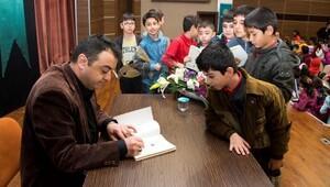 Çocuk kitabı yazarları öğrencilerle buluştu