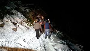 Yaylada mahsur kalan 3 amatör telsizci kurtarıldı