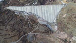 Afşar Hadim Baraji İnşaatında çalışmalar devam ediyor