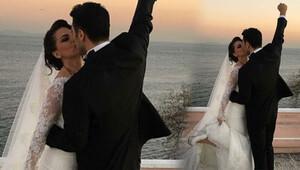 Nez ve oyuncu Eylem Server Ünüvar evlendi