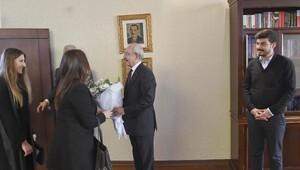 Kılıçdaroğlu, Genç Liderler Topluluğu üyeleriyle görüştü