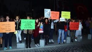 Bodrumlu kadınlar cinsel istismar önergesine karşı meydanlarda