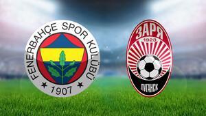 Fenerbahçe Zorya Luhansk UEFA maçı hangi kanalda ne zaman, şifreli mi