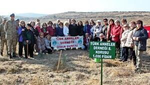 Türk Anneler Derneğinden 8inci koru