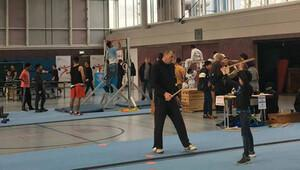 Mülteci çocuklara özel spor etkinliği