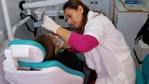 Okullarda diş sağlığı çalışması