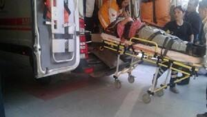 Traktör uçuruma yuvarlandı: 1 ölü, 2 yaralı