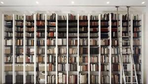 Kitap kurtları için farklı kütüphane modelleri