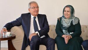 Deniz Baykal, Ahmet Türk'ün eşini evinde ziyaret etti