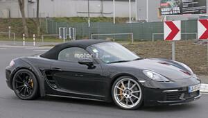 Porsche 718 Boxster GTS, Nürburgringde test ediliyor