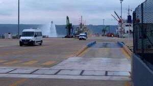 Gemide terörist saldırıya karşı tatbikat