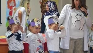 Öğrencilere Diş Sağlığının önemi anlatıldı.
