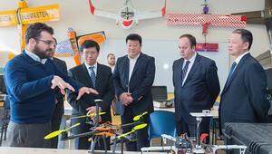 Çin Ulusal Uzay İdaresi'nden İTÜ'ye ziyaret