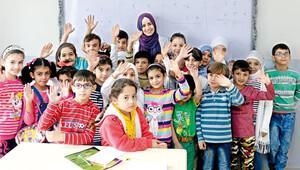 Suriyenin kayıp nesli Türkiyede okullu oldu
