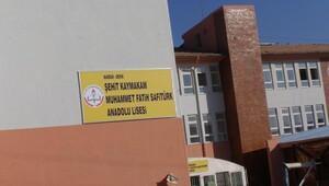 Kaymakam Safitürkün adı Derikte okula ve fidanlığa verildi