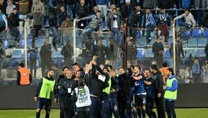 Adana Demirsporda galibiyet sevinci yaşanıyor