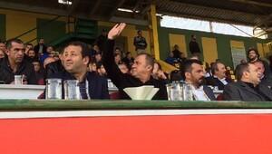 Türkiye Futbol Direktörü Terim 3üncü lig maçını izledi