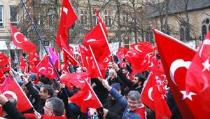 Strasbourg ve Lüksemburg'da da protesto ettiler