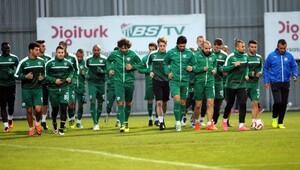 Bursaspor'da kupa hazırlığı