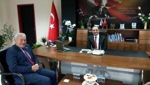 Lapseki Belediye Başkanından, SGK İl Müdürüne ziyaret