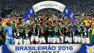 Brezilyada şampiyon Palmeiras